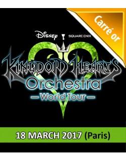 PARIS - Carré Or Ticket - March 18, 2017 - KINGDOM HEARTS Orchestra - World Tour - Salle Pleyel - 8pm - Concert Ticket