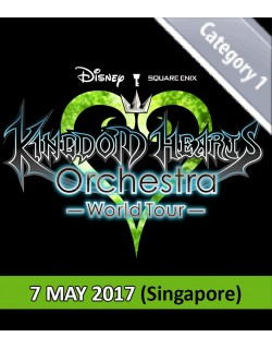 SINGAPORE - Normal - May 7, 2017 - KINGDOM HEARTS Orchestra -World Tour- (Esplanade Concert Hall - 7:30pm) - Concert Ticket
