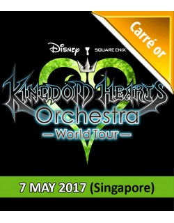SINGAPORE - Gold - May 7, 2017 - KINGDOM HEARTS Orchestra -World Tour- (Esplanade Concert Hall - 7:30pm) - Concert Ticket