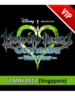 SINGAPORE - VIP (Cat 1) - May 7, 2017 - KINGDOM HEARTS Orchestra -World Tour- (Esplanade Concert Hall - 7:30pm) - Concert Ticket