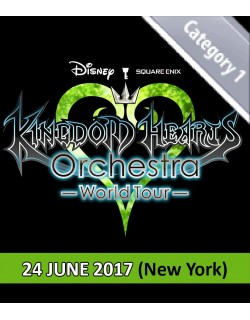NEW YORK - Cat.1 - June 24, 2017 - KINGDOM HEARTS Orchestra -World Tour- (United Palace - 8pm) - Concert Ticket