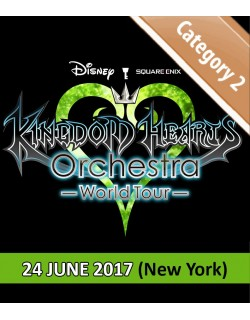 NEW YORK - Cat.2 - June 24, 2017 - KINGDOM HEARTS Orchestra -World Tour- (United Palace - 8pm) - Concert Ticket