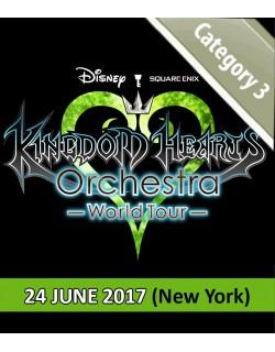NEW YORK - Cat.3 - 24 Juin 2017 - KINGDOM HEARTS Orchestra -World Tour- (United Palace - 20h) - Place de concert
