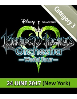 NEW YORK - Cat.3 - 23 Juin 2017 - KINGDOM HEARTS Orchestra -World Tour- (United Palace - 20h) - Place de concert
