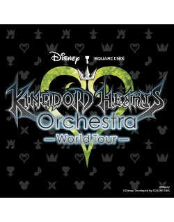 OSAKA - S Seat Ticket - July 8, 2017 - KINGDOM HEARTS Orchestra - World Tour - Orix Theater - 12am (noon) - Concert Ticket