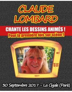 VIP - Claude Lombard  - La Cigale (Paris) -  Place de Concert - 30 Septembre 2017