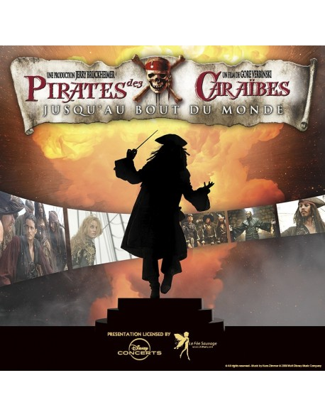 Carré Or - Pirates of the Caribbean 3 - 13 Jan. 2018 (8pm) - PARIS (Salle Pleyel)