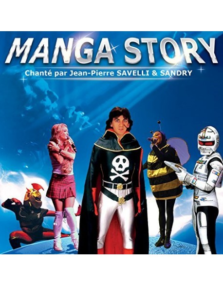 CD Manga Story - Jean Pierre Savelli