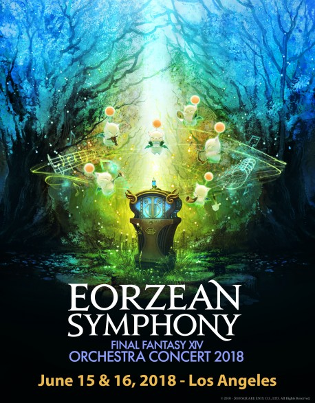 Cat.1 - June 15, 2018 - Los Angeles (Dolby Theatre) - FINAL FANTASY XIV Orchestra Concert 2018 -Eorzean Symphony-