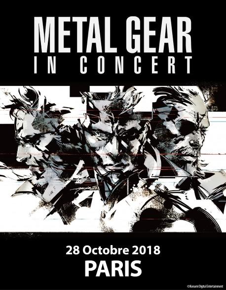 PARIS - Cat.1 - Oct. 28, 2018 - METAL GEAR in Concert - Concert Ticket (3pm)