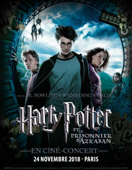Cat.3 - 24 Nov. 2018 - PARIS - Harry Potter and the Prisoner of Azkaban in CONCERT - PARIS - Concert Ticket